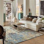 Area Rug in living room | Hughes Floor Coverings Inc.