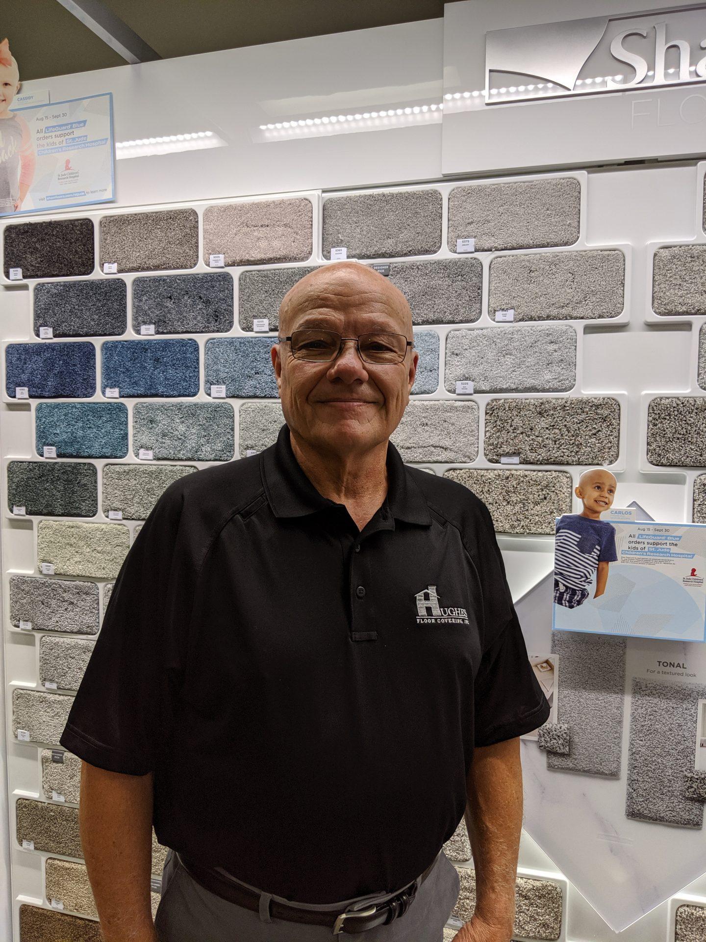 Jim Sanford | Hughes Floor Coverings Inc