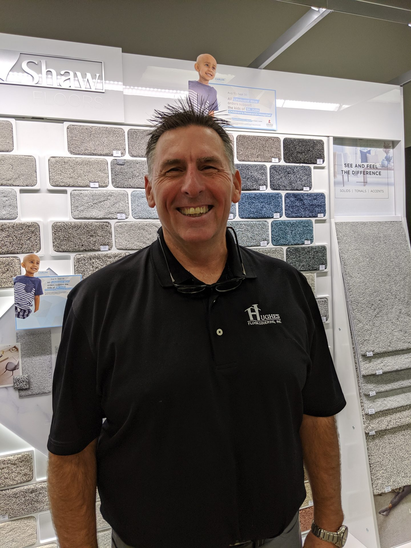 Ray Rushing | Hughes Floor Coverings Inc