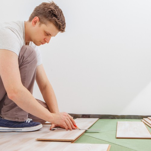 Installing luxury vinyl flooring | Hughes Floor Coverings Inc